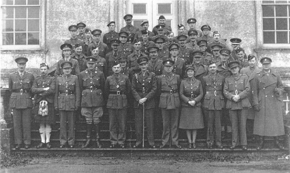 Intelligence Officers, Coleshill 1942