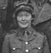 Senior Commander B Temple, Coleshill 1942
